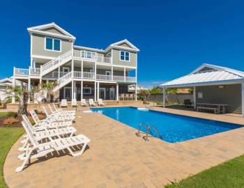 A summer day at a private Sandbridge vacation rental