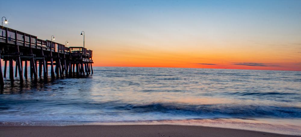 A Sandbrige sunset